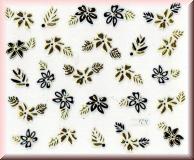 Sticker mit Blüten & Blätter - #AW05