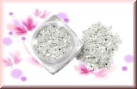 Hollywoodglitter - Silber/Weiß #1