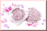 Hollywoodglitter - Pink/Weiß #5