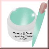 UV Farbgel *Sparkling Türkis*- 5ml -#GG29