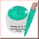 UV Farbgel *Sparkling Smaragd*- 5ml -#GG30