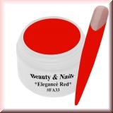 UV Farbgel *Elegancè Red*- 5ml -#FA33