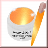 UV Farbgel *Shiny Neon Orange*- 5ml - #407