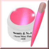 UV Farbgel *Shiny Neon Pink*- 5ml - #410