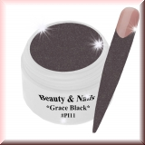 UV Farbgel *Grace Black* - 5ml - #PI11