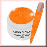 UV Farbgel *Grace Orange* - 5ml - #PI8