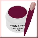 UV Farbgel *Shade Marsala 2* - 5ml - #C90