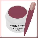 UV Farbgel *Shade Marsala 3* - 5ml - #C91