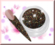 Micro Glitter - Hologramm Schwarz #14