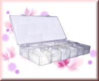 Acryl TIP-BOX leer - Platz für 500 Tips