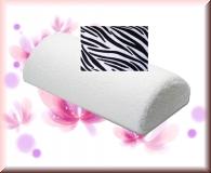 Handauflage im Zebra Look  - Frotteebezug