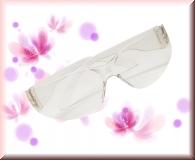 Schutzbrille gegen Feilstaub