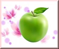 Paraffin für samtweiche Hände - Grüner Apfel Duft 400g