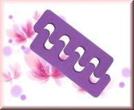 2 Stück Zehenspreizer - Violett