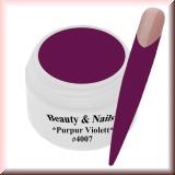 UV Farbgel *Purpur Violett* - 5ml - #4007