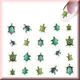 Sticker - Bunte Schildkröten -#B2309