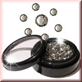 Strasssteinchen *Black Diamond - ss8 - 50Stück #3